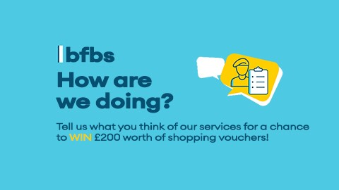 Take our BFBS services survey for a chance to win £200 worth of online shopping vouchers